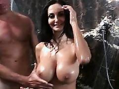 Hot Shower Fucking Scene with Milf Slut Ava Addams