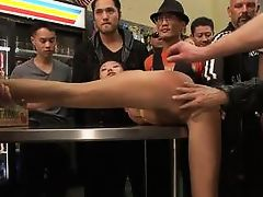 Alina Li - Sweet Asian slut fucked and humiliated in a corner store