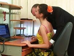 Sensual tutoring with teacher