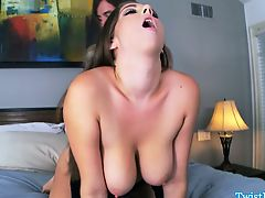 Natural big titted Alex Chance pounded