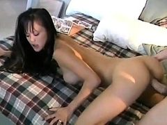 Skinny Asian Teen Filmed Sucking Dick