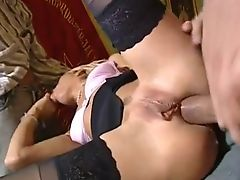 dp sexy blonde with huge pussy
