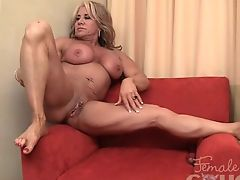 Muscle milf sex