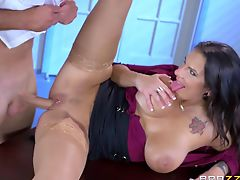 Brazzers - Cop fucks the info out of Lylith L