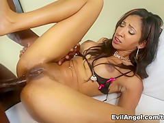 Best pornstars Sadie Santana, Lexington Steele in Horny Big Tits, Anal adult video