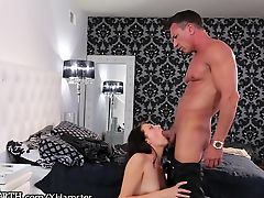 Hung Stepdad Gives Daughter a Ride