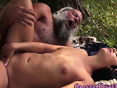 Teen fucked by old guy