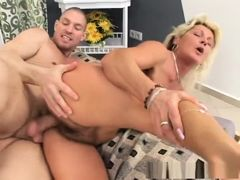 Crazy pornstar in amazing mature, creampie xxx video