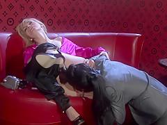 Amazing pornstars Nessa Devil and Claudia Adams in best masturbation, blowjob sex scene