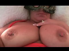 Suzy Plays With Her Huge Tits