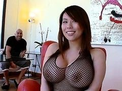 Darling shares her perky melons and fuck hole
