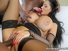 Hottest pornstars Lexington Steele, Prince Yahshua, Silky Black in Horny Big Ass, Pornstars xxx movie