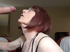 Heather takes a Cum Shot