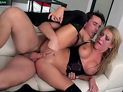 Amy Brooke in a kinky wild hardcore sex