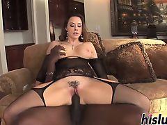 Monster black dick for ravishing Chanel Preston