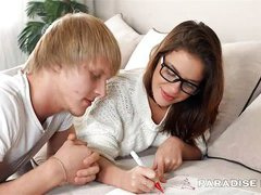 gorgeous analled russian schoolgirl