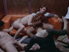 Crazy retro clip with Liza Storfenberg and Ursula White
