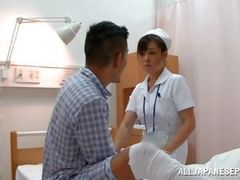 nurse persuaded to suck dick