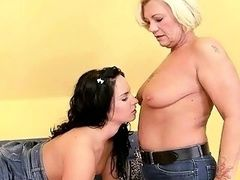 Horny Grannies vs Pretty Teens Compilation