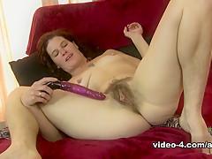 Horny pornstar in Incredible Hairy, MILF adult clip