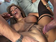 Demi Dela will do anything to satisfy her men