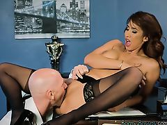 Luscious Secretary Isis Love Gets Fucked By Boss
