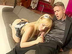 Fabulous pornstar Aleska Diamond in hottest blonde, creampie sex video