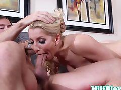 Cocksucking milf Ashley Fires deepthroating