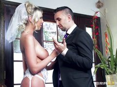 busty whore+ huge dick = runaway bride
