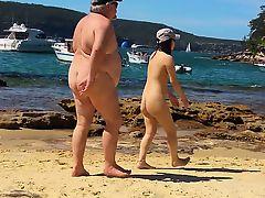 Oriental on Sydney naked beach part 1
