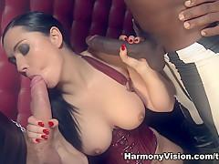 Amazing pornstars Angell Summers, Sheer Delight in Hottest Big Ass, Interracial adult scene