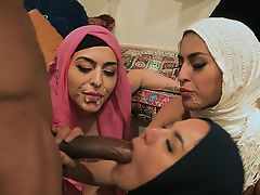 BFFS - Hot Slutty Muslim Teens Break Cultural Norms