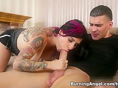 Fabulous pornstar Joanna Angel in Crazy Facial, Anal adult scene