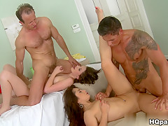Best pornstar in Incredible Brunette, Blowjob porn movie