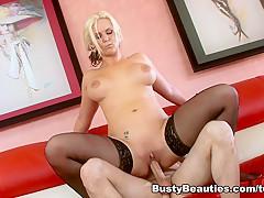 Hottest pornstar Phoenix Marie in Crazy Blonde, Facial porn scene