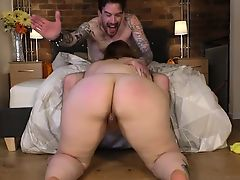 British Plumper Estella Bathory Fucks Tattooed Stud