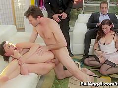 Amazing pornstars James Deen, Dana DeArmond, Sovereign Syre in Exotic Anal, Stockings sex video