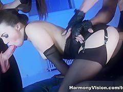 Incredible pornstar Tiffany Doll in Hottest Threesomes, BDSM sex video