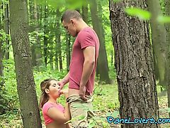 Horny Babe Amy Red Enjoys Strangers Big Cock