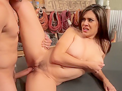 Hottest pornstar in incredible facial, tattoos adult movie