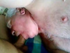 Grandpa sucking 2