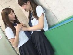 Exotic Japanese whore Rin Kashiwagi, Maria Hanano, Ai Uehara in Crazy Small Tits, Lesbian JAV scene