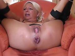 BBW Blonde Squirt