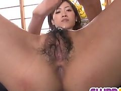 Kanon Hanai fucked by two males in rough ways
