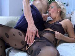 PantyhoseTales Video: Sandy and Gerhard