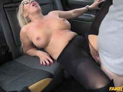 Mia in Massage therapist works her magic - FakeTaxi