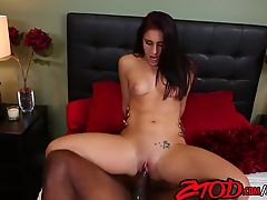 Mischa Brooks Likes her Coffee Black and Full of Cum