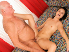 Claudia Adams, Grandpa Cocksthrill in Look At The Old People Fucking #03, Scene #02