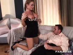 paradise films anal creampie for busty squirter