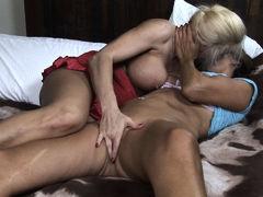 Cindy Craves & Torri Secret in Lesbian Triangles #13, Scene #02